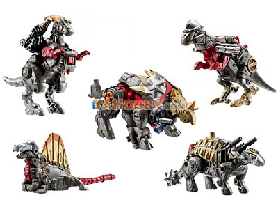 Transformers 2011 Combiner 5-Packs Series 01 Dinobots