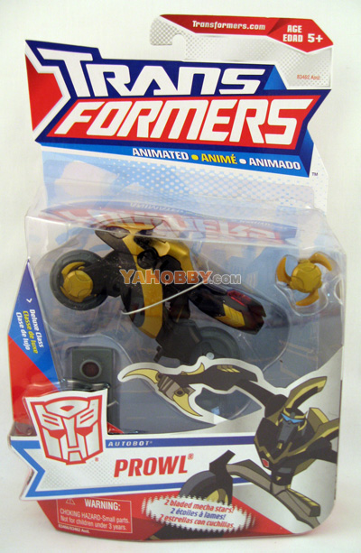 Hasbro Transformers Animated Action Figure Deluxe Prowl
