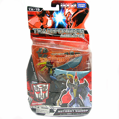 Japanese Transformers Animated - TA19 / TA-19 Autobot Swoop