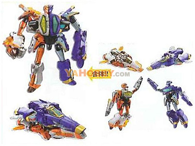 Japanese Transformers Animated - TA22 / TA-22 Jetstorm