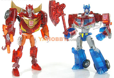 Transformers Animated Sons of Cybertron Optimus Prime Rodimus