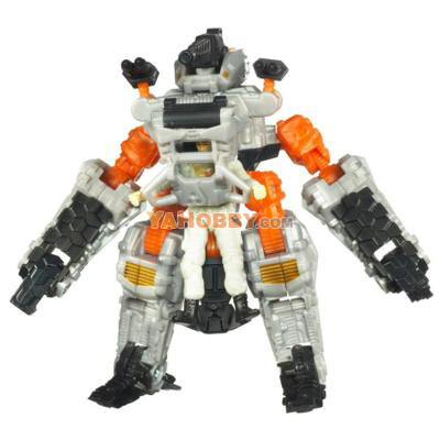 Transformers 3 DOTM Human Alliance Major Tungsten Thunderhead
