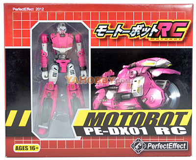 Transformers Perfect Effect PE-DX-01 RC Motorcycle [PREORDER]