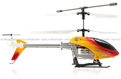 UDI U2 3CH Metal RC Helicopter w/ Built-in Gyro (Orange)