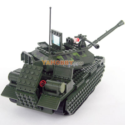 ENLIGHTEN Building Blocks Bricks Military BIG TANK 0494
