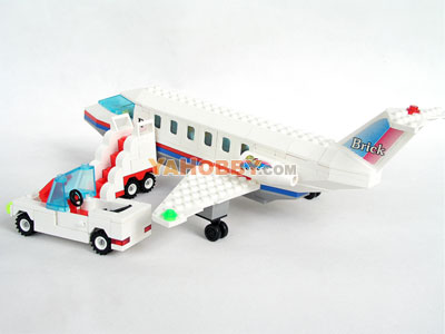 ENLIGHTEN Building Blocks Bricks Airbus Airliner 0496