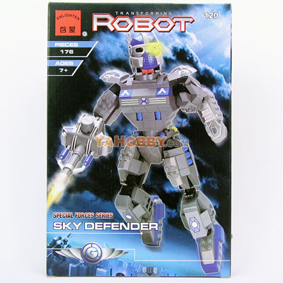 ENLIGHTEN Building Blocks Bricks Robot SKY DEFENDER 120