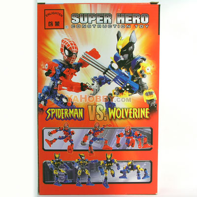 ENLIGHTEN Building Blocks Bricks SPIDERMAN 229