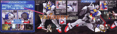 Gundam High Grade 1/144 Model Kit HG 0 Gundam (Type A.C.D.)
