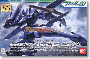 Gundam High Grade 1/144 Model Kit Al-Saachezs AEU Enact Custom