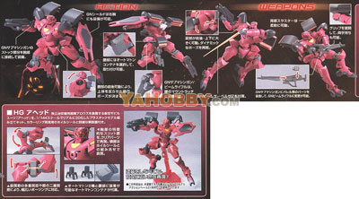 Gundam High Grade 1/144 Model Kit GNX-704T Ahead Mass Type