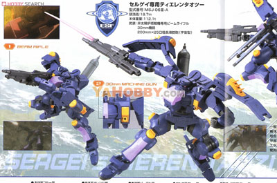 Gundam High Grade 1/144 Model Kit HG Sergeis Tieren Taozi
