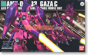 Gundam HGUC 1/144 Model Kit AMX-003 Gaza-C Production