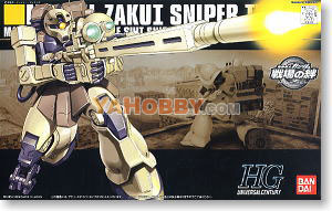 Gundam HGUC 1/144 Model Kit MS-05L Zaku I Sniper Type