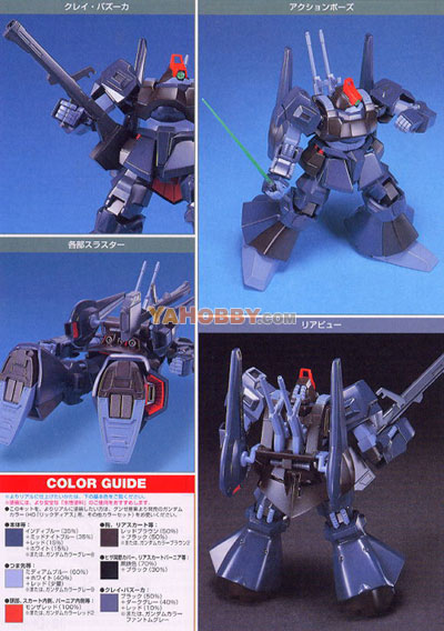 Gundam HGUC 1/144 Model Kit RMS-099 Rick Dias