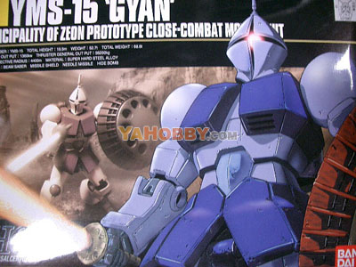 Gundam HGUC 1/144 Model Kit YMS-15 Gyan