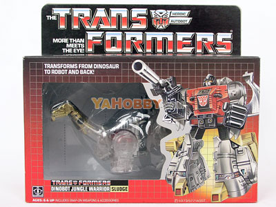 Transformers Sludge Clear KO
