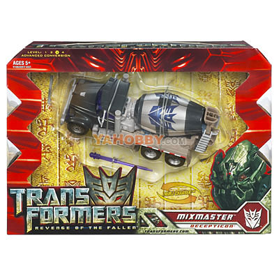 Transformers 2009 Movie 2 ROTF Voyager Mixmaster