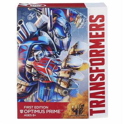 Transformers Movie 4 Optimus Prime Action Figure First Edition