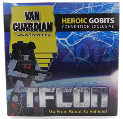 Transformers iGear TFcon Exclusive Heroic Gobits Van Guardian