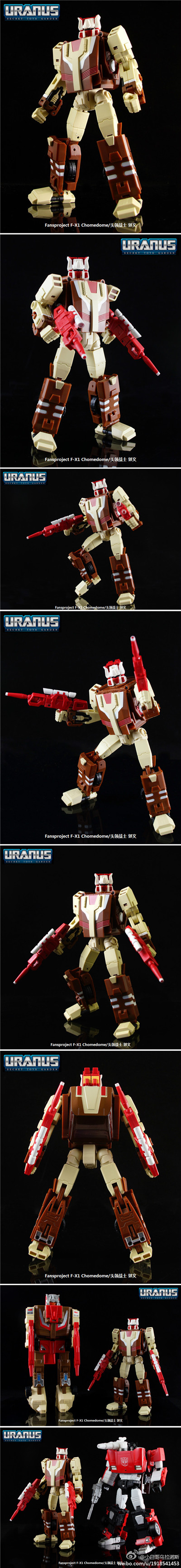 Transformers Fansproject FPJ Function-X1 X-1 Headmaster