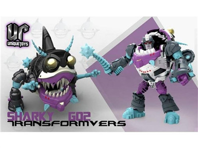 Transformers Unique Toys G-02 Sharky Set of 3