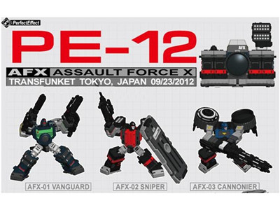 Transformers Perfect PE-12 Assault Force X