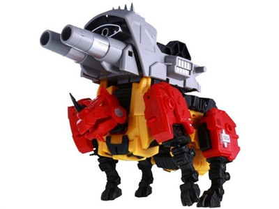 Transformers Reformatted Feral Rex R-05 Fortis Ground Assaulter