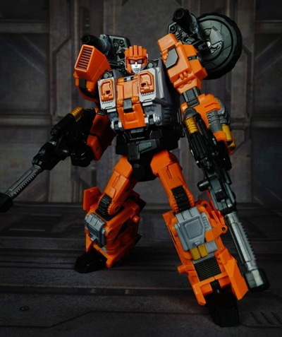 Transformers Warbotron WB03-A Afterburner Turbo Ejector
