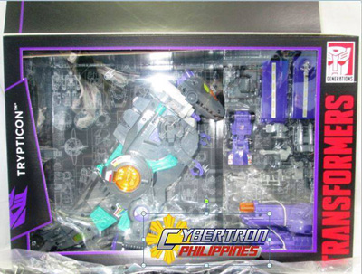 Transformers G1 Reissue Trypticon Platinum Edition