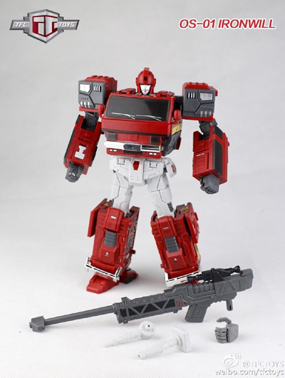 Transformers TFC Toys TFC OS-01 Ironwill Ironhide