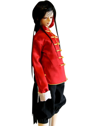 Axis Powers China Wang Yao Cosplay Costume
