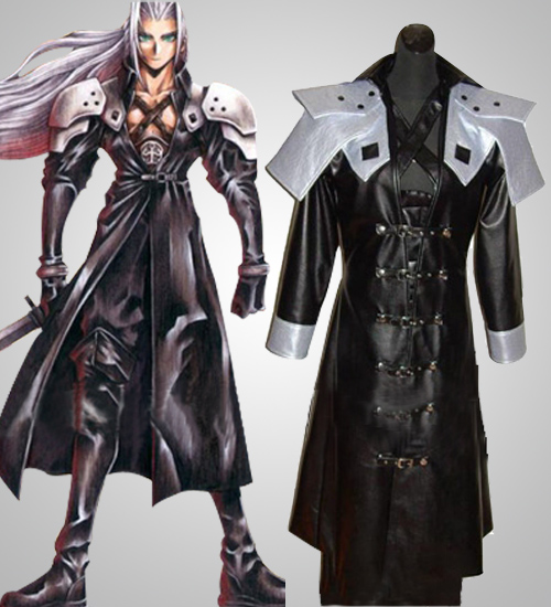final fantasy sephiroth cosplay costume click to enlarge