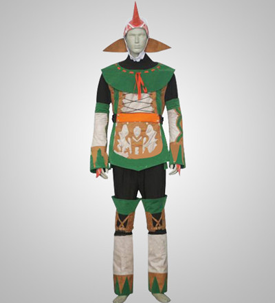 Final Fantasy X-2 Summoner Cosplay Costume