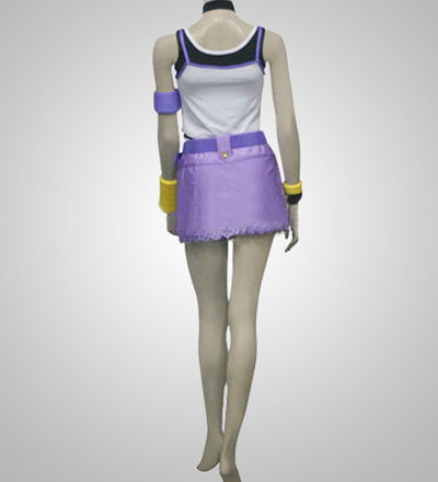 Kingdom Hearts Ver.1 Kairi Purple Cosplay Costume