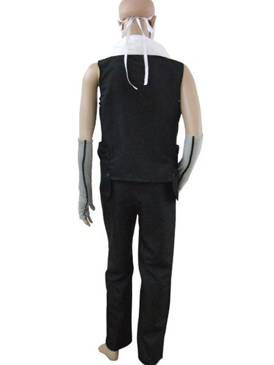 Naruto Zabuza Black Cosplay Costume