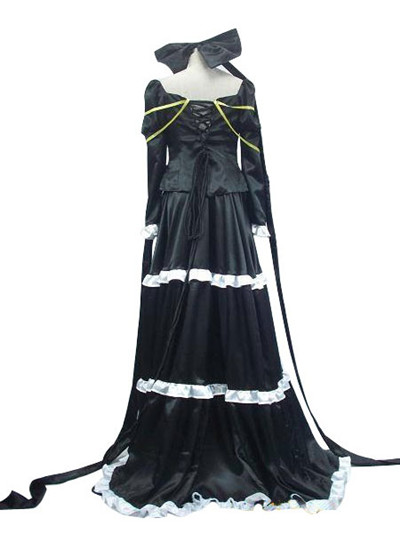 Vocaloid Imitation Black Cosplay Costume