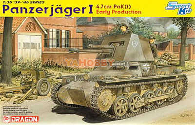 1:35 Dragon Panzerjager I 4.7cm PaK Early Production 6258