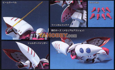 Gundam HG Universal Century 1/144 Model Kit Qubeley