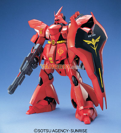 Gundam Master Grade 1/100 Model Kit MSN-04 Sazabi