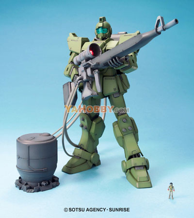 Gundam Master Grade 1/100 Model Kit RGM-79[G] GM Sniper