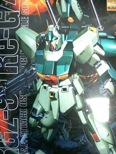 Gundam Master Grade 1/100 Model Kit - MG RGZ-91 Re-GZ