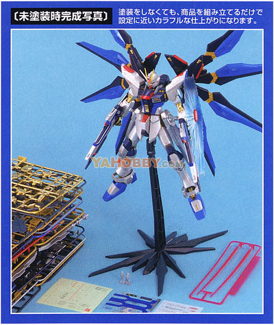Gundam Master Grade Strike Freedom Gundam Extra Finish Version
