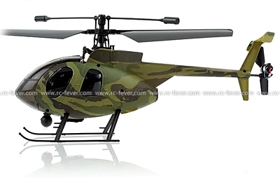 Nine Eagles 320A 4CH RC Helicopter w/ Gyro Comouflage Green