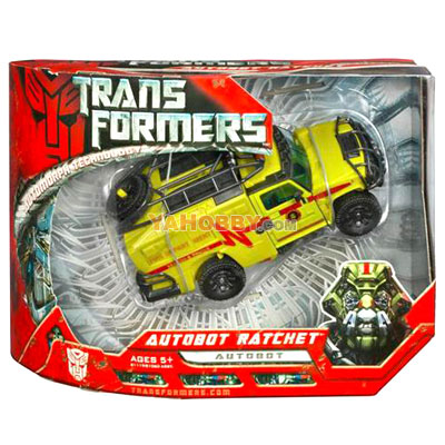 Transformers 2007 Movie Voyager Class Wave 01: Autobot Ratchet