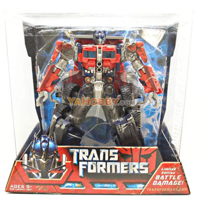 Transformers 2007 Movie Premium Series Optimus Prime Limited Edition With Battle Damage