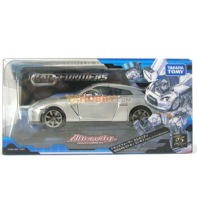 Transformers Alternity NISSAN GT-R R35 Optimus Prime Silver