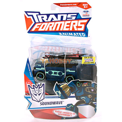 Hasbro Transformers Animated Deluxe Soundwave