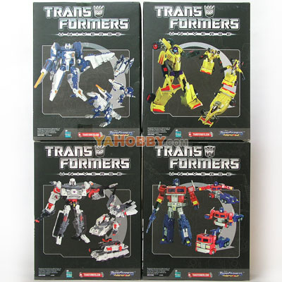 Transformers Universe Deluxe Special Edition Set