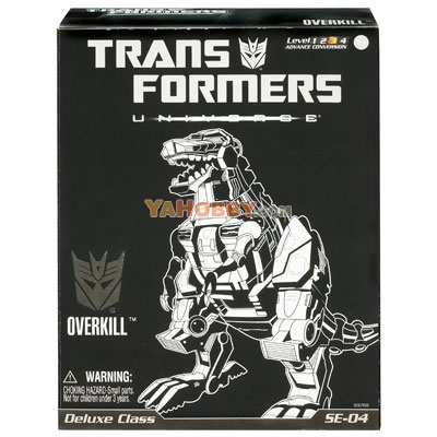 Transformers Universe Special Edition Overkill